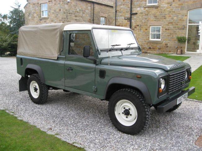 defender2 net view topic 2007 defender pickup for sale in yorkshire. Black Bedroom Furniture Sets. Home Design Ideas