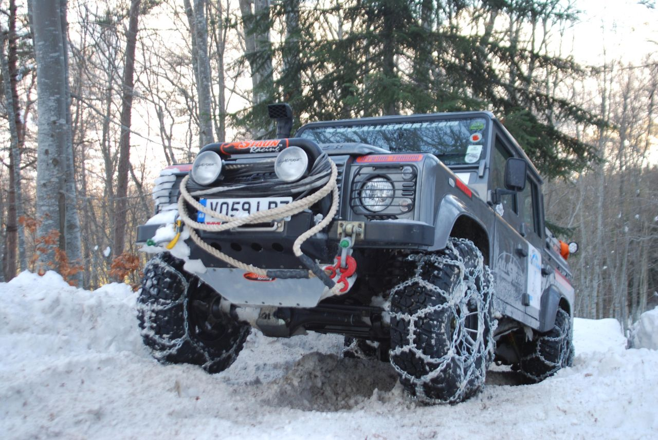 Defender2 Net View Topic Land Rover Snow Chains