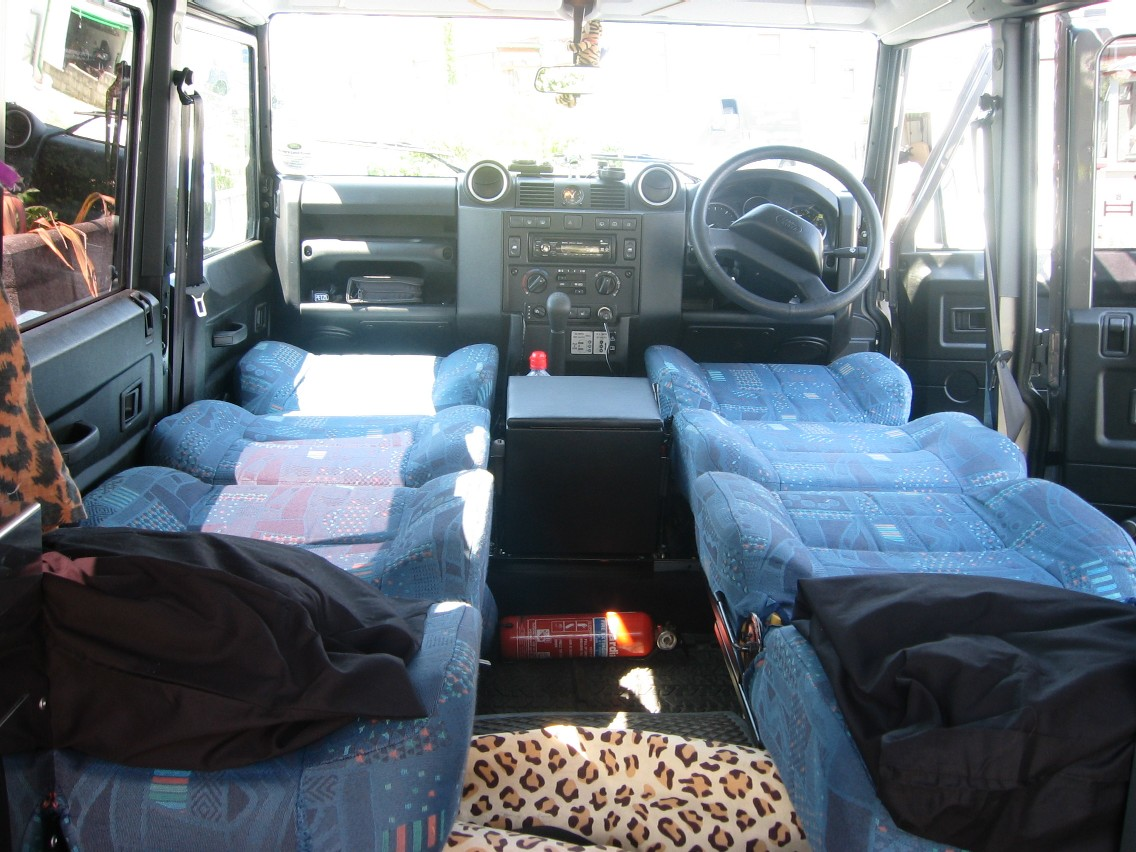 Defender2 Net View Topic 110 Bed Using Folded Puma Seats