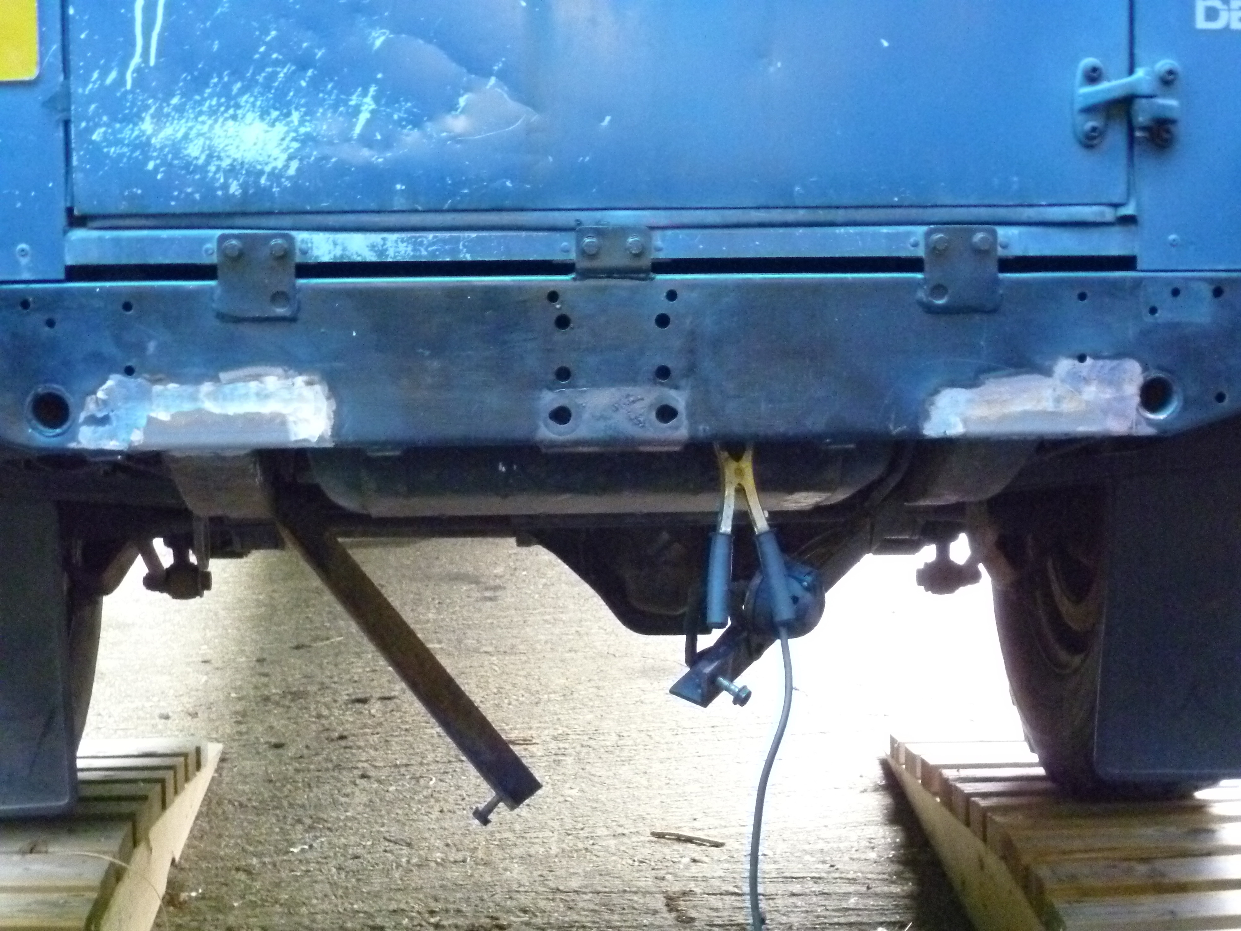 Defender2 Net View Topic Mot Cross Member Corrosion