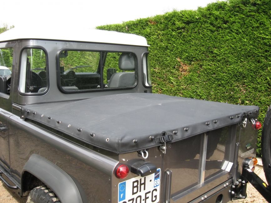 Defender2 Net View Topic 90 Pickup Rear Cover