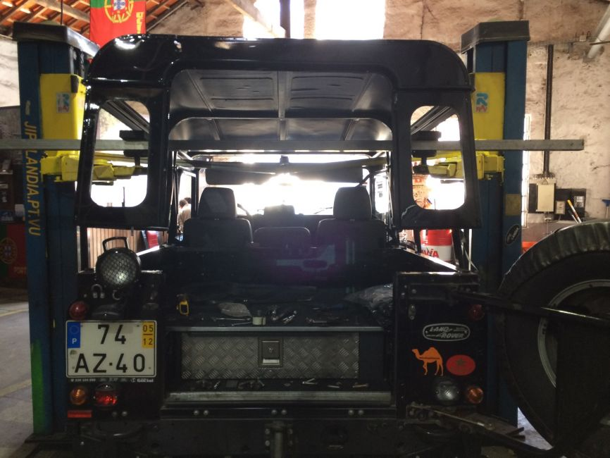 Defender2 Net View Topic Defender 90 Softop Conversion