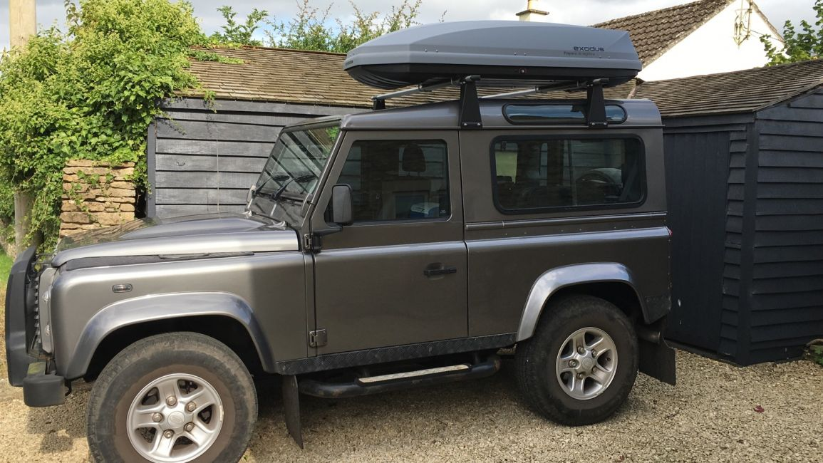 Defender2 Net View Topic Roof Bars For Defender 90