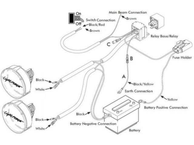 Wiring Diagram For Spotlights On Landcruiser