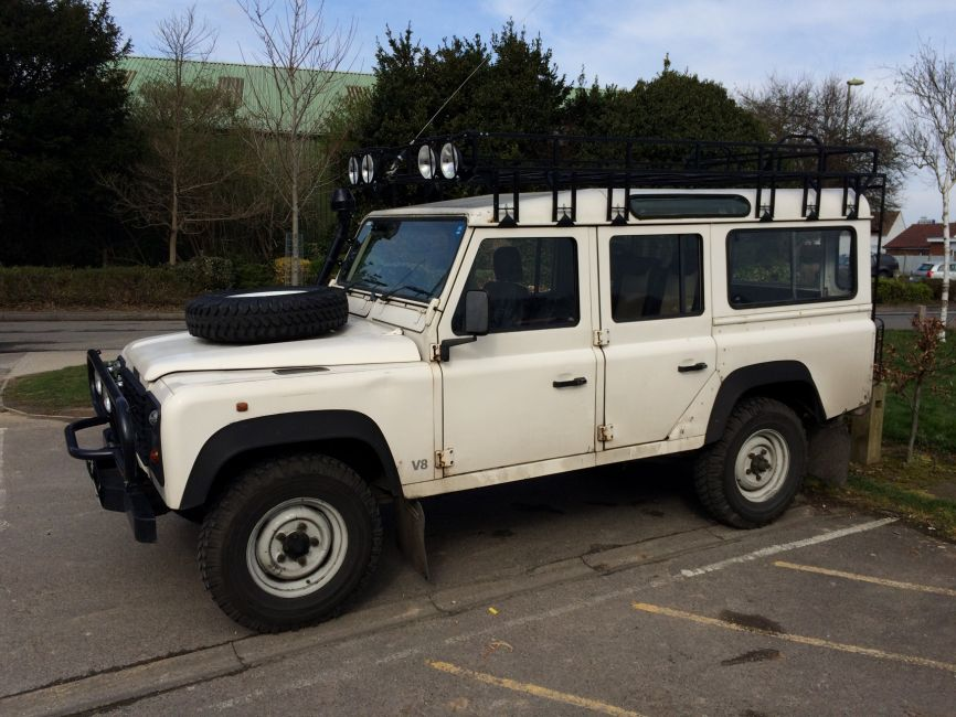 Defender2 Net View Topic For Sale Camel Trophy Roof Rack
