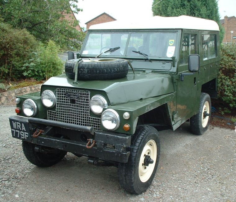 Land Rover Discovery 2004 Landmark Edition: 1978 (?) Lightweight